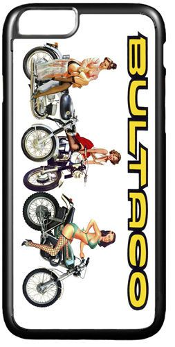 Bultaco Chicas Motorcycle High Quality Cover/Case For iPhone 7/7S Motorbike Gift