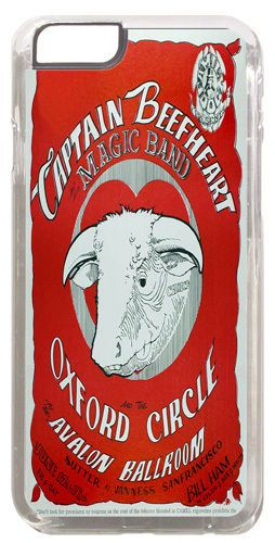 Captain Beefheart Concert Poster Cover/Case Fits iPhone 6 Psychedelic Rock Music
