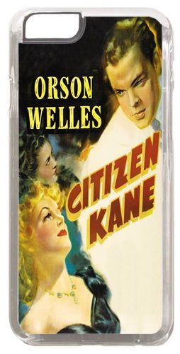 Citizen Kane Vintage Movie Poster Cover/Case Fits iPhone 6/6S. Classic Film Noir