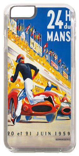 Classic Vintage Le Mans 1959 Race Poster Cover/Case For iPhone 6/6S. 24hr Races