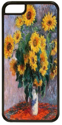Claude Monet Bouquet de Soleils High Quality Cover/Case For iPhone 7/7S Art Gift