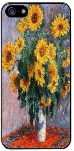 Claude Monet Bouquet de Soleils Superior Quality Case For iPhone 5/5S Fine Art