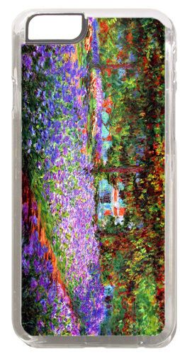 Claude Monet The Garden At Giverny High Quality Cover/Case For iPhone 6. Art
