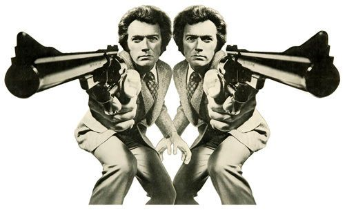 Clint Eastwood Dirty Harry T-Shirt. Gents, Ladies & Kids Sizes Magnum Force