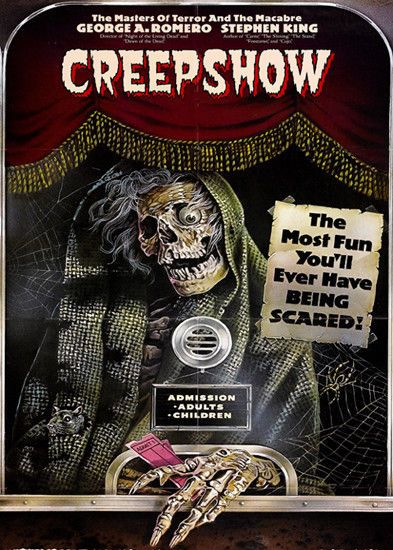 Creepshow T-Shirt. Gents Ladies Kids Sizes Creep Show Film