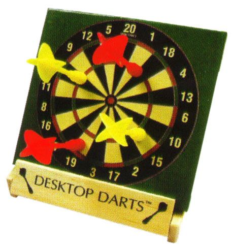 Darts in a box