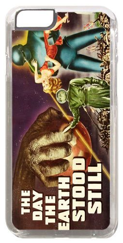 Day The Earth Stood Still Vintage Movie Poster Cover/Case For iPhone 6/6S Scifi