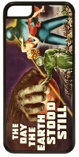 Day The Earth Stood Still Vintage Movie Poster Cover/Case For iPhone 7/7S Scifi