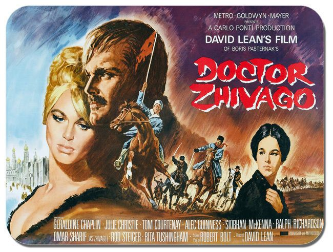 Dr Zhivago High Quality Mouse Mat. Romantic Doctor Movie Film Poster Mouse Pad