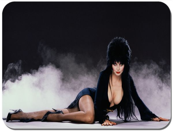 Elvira  Movie Poster Mouse Mat Mousepad. High Quality Vintage Mistress Of The Dark  Film Mouse Pad