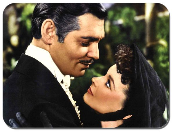 Gone With The Wind Mouse Mat. Movie Film Quality Mouse pad