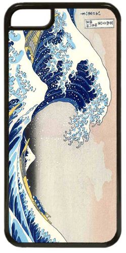 Great Wave At Kanagawa High Quality Cover Case Fits iPhone 5C. Hokusai Art Gift