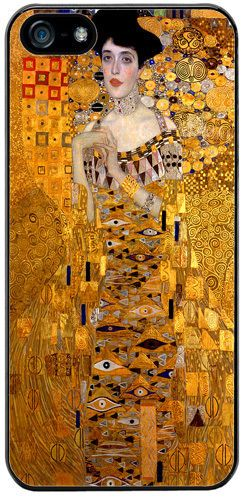 Gustav Klimt Portrait of Adele Bloch-Bauer I Cover/Case For iPhone 5/5S Art Gift