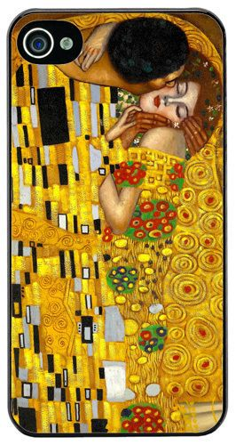 Gustav Klimt The Kiss High Quality Cover/Case For iPhone 4/4S Fine Art Gift