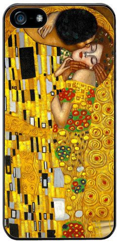 Gustav Klimt The Kiss High Quality Cover/Case For iPhone 5/5S Fine Art Gift
