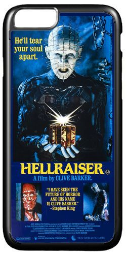 Hellraiser Vintage Horror Movie Poster Cover/Case Fits iPhone 7/7S 6/6S 6/6+S