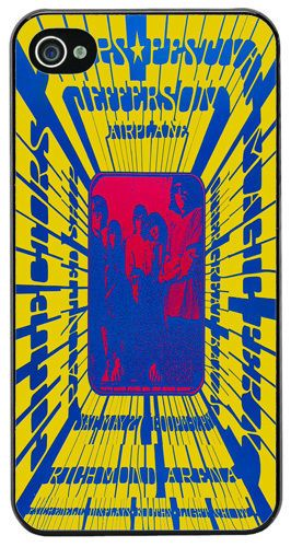 Jefferson Airplane Vancouver Trips HD Quality Cover/Case Fits iPhone 4/4S. Music