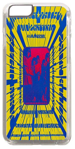 Jefferson Airplane Vancouver Trips Poster Cover/Case Fits iPhone 6/6S. Psyc