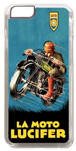 La Moto Lucifer Motorcycle Cover/Case Fits iPhone 6 PLUS + /6 PLUS S. Motorbike