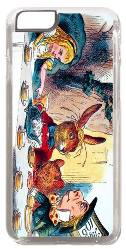 Mad Hatters Tea Party Quality Cover/Case For iPhone 6/6S. Alice In Wonderland