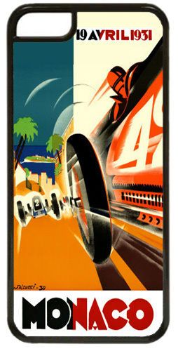 Monaco Grand Prix 1931 Cover/Case For iPhone 7/7S. Vintage Poster Car Race Gift