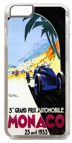 Monaco Grand Prix 1933 Cover/Case For iPhone 6/6S Vintage Car Race Poster Gift