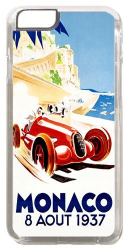 Monaco Grand Prix 1937 Cover/Case For iPhone 6 Vintage Car Race Poster Gift