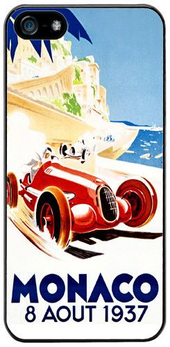 Monaco Grand Prix 1937 High Quality Cover/Case For iPhone 5/5S Vintage Classic