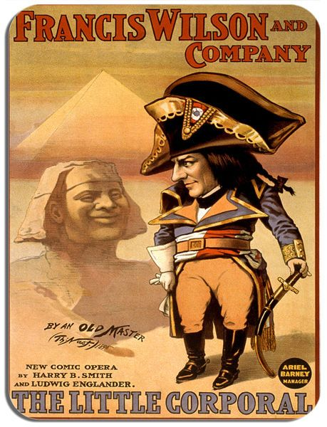 Napoleon Little Corporal Opera Comic Poster Mouse Mat. Film Novelty Mouse pad