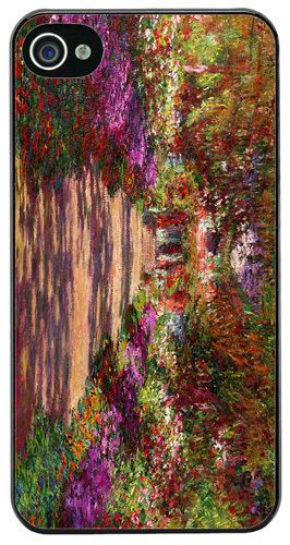 Pathway In Monet's Garden At Giverny High Quality Cover/Case For iPhone 4/4S