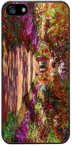 Pathway In Monet's Garden At Giverny High Quality Cover/Case For iPhone 5/5S Art