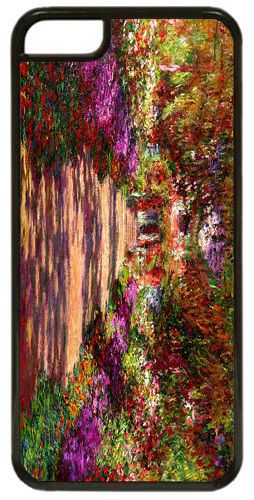 Pathway In Monet's Garden At Giverny High Quality Cover/Case For iPhone 5C. Art