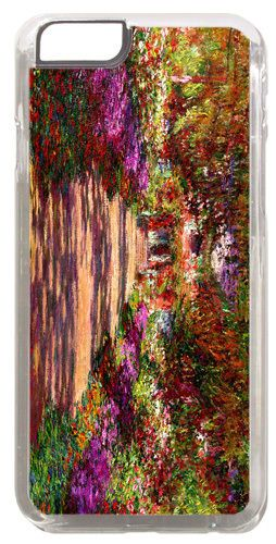 Pathway In Monet's Garden At Giverny High Quality Cover/Case For iPhone 6 Art