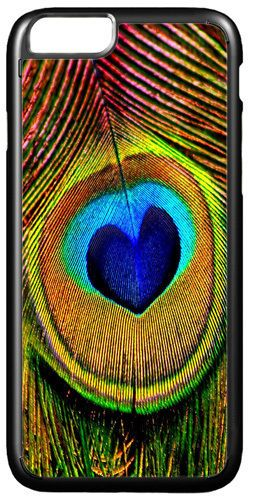 Peacock Feather Print High Quality Cover/Case For iPhone 7/7S. Art Gift