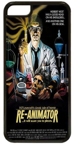 Re-Animator Horror Movie Film Poster Cover/Case Fits iPhone 5C. HP Lovecraft