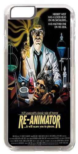 Re-Animator Horror Movie Film Poster Cover/Case Fits iPhone 6. HP Lovecraft
