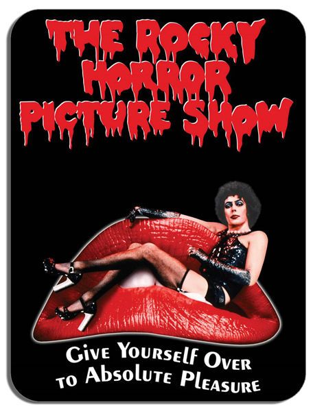 Rocky Horror Picture Show Mouse Mat. Cult Horror Movie Film Poster Mouse Pad