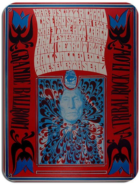 Scott Richard Case Concert Poster Mouse Mat Psychedelic Rock Mouse pad