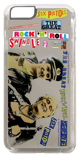 Sex Pistols Rock N Roll Swindle Punk Vintage Promo Cover/Case Fits iPhone 6/6S
