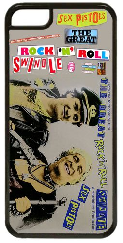 Sex Pistols Rock N Roll Swindle Punk Vintage Promo Cover/Case Fits iPhone 7/7S