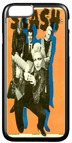 Siouxsie And The Banshees Vintage Poster Cover/Case Fits iPhone 7/7S. Punk Gift