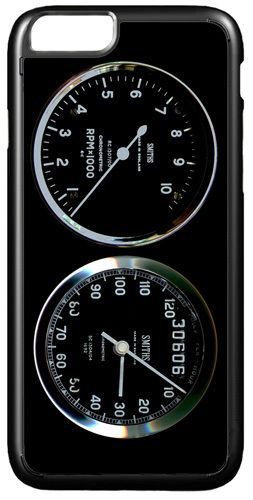 Smiths Rev Counter/Tacho & Speedo Gauge Cover/Case For iPhone 7/7S Motorcycle