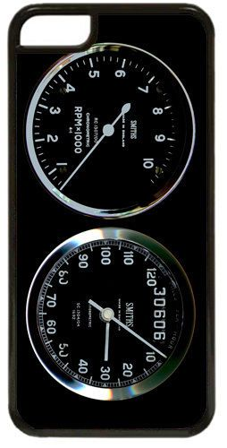 Smiths Rev Counter/Tacho & Speedometer Cover/Case For iPhone 5C Motorbike Clocks