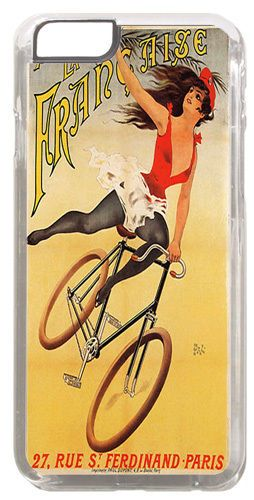 Societe La Francaise Classic Bicycle Poster Cover/Case For iPhone 6/6S Bike Gift