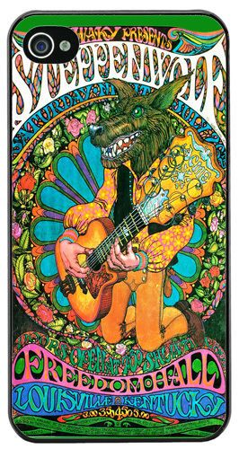 Steppenwolf Vintage Concert Poster High Quality Cover/Case Fits iPhone 4/4S