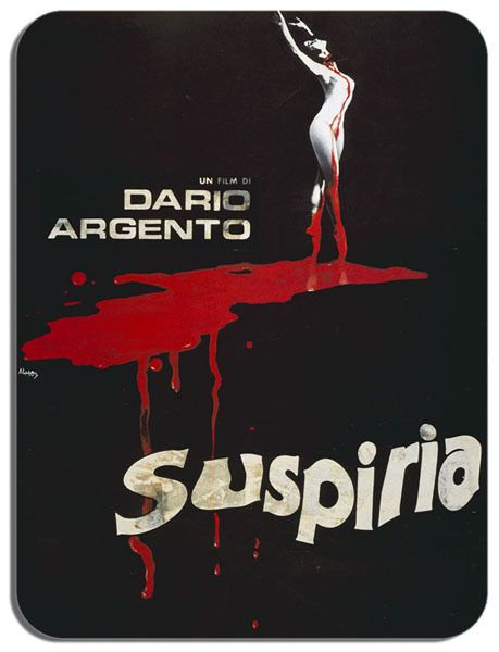Suspiria Dario Argento Mouse Mat Horror Movie Poster Film Novelty Mouse pad