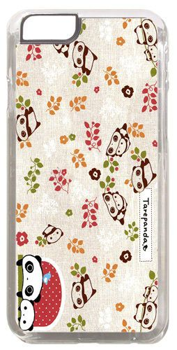 Tare Panda Embroidery Pattern Cover Case For iPhone 6/6S Kawaii Japan Animation