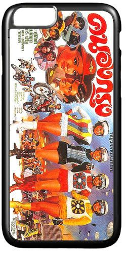 Thai Sixties Kitsch Funky Biker Movie Poster Quality Cover/Case Fits iPhone 7/7S