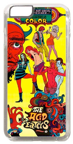 The Acid Eaters Movie Poster Cover/Case For iPhone 6. Quality 60s Psychedelic
