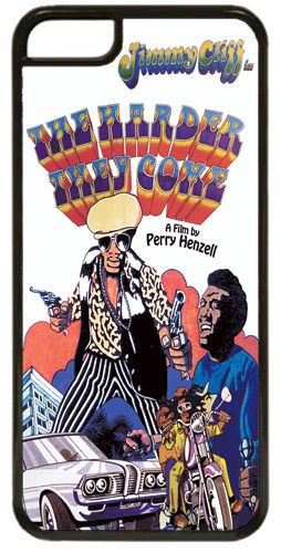 The Harder They Come Jimmy Cliff Movie Poster Cover/Case Fits iPhone 5C. Vintage